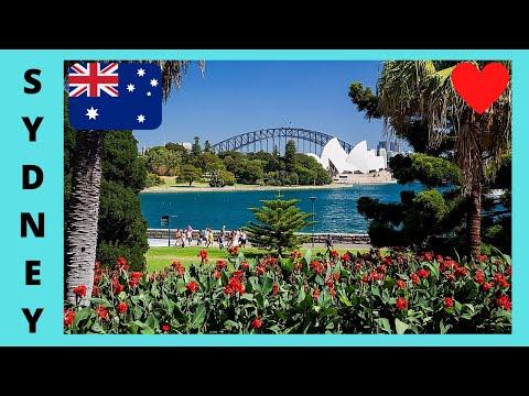 SYDNEY: Beautiful Royal Botanic 🌺🌹 Gardens, Awesome Views!
