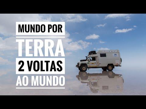 ENTREVISTA MUNDO POR TERRA - ROY RUDNICK E MICHELLE WEISS - PARTE 1 - Expedição Sul Do Brasil Ep.11