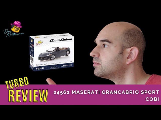 Was kann der Maserati GranCabrio Sport von Cobi? Set 24562 im Review