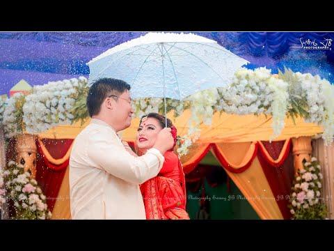 Lukhash Brahma Weds Harani Daimary    Best Wedding Highlights 2019    Bodo Reception Party Time