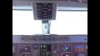 Montenegro Airlines Embraer 195 Cockpit BEG-TIV