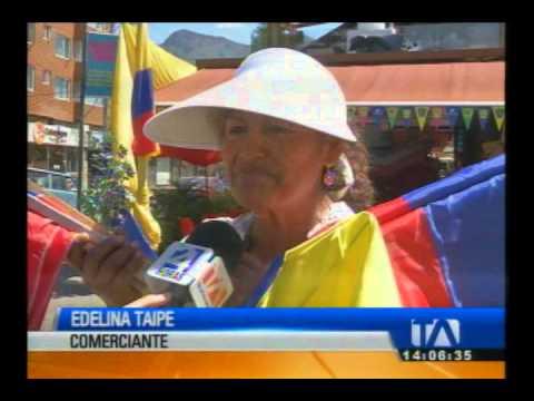 Quito se enciende por Brasil 2014