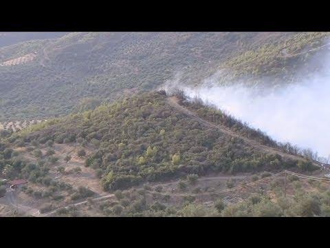 Σε ύφεση οι πυρκαγιές σε Ζάκυνθο και Ηλεία