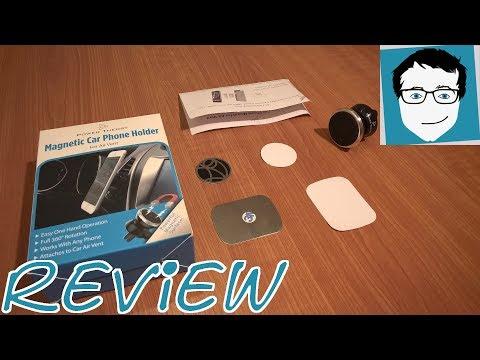 magnet halterung im auto f rs smartphone von power theory. Black Bedroom Furniture Sets. Home Design Ideas