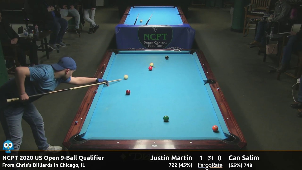Can Salim vs Justin Martin - 2020 NCPT US Open Qualifier #2