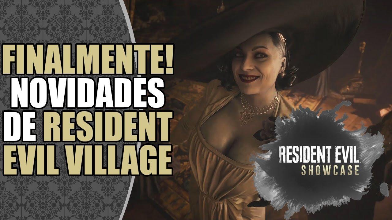 REcado: Showcase de Resident Evil Village em 21 de Janeiro de 2021 às 19h00! 🔥
