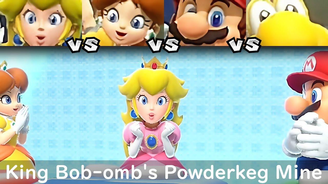 Super Mario Party Peach vs Daisy vs Mario vs Koopa Troopa #23