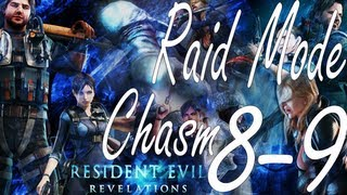Resident Evil Revelations Raid Mode Chasm Stage 8-9 (Co-Op)