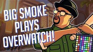 BIG SMOKE Plays OVERWATCH! Soundboard Pranks!! *Funny Reactions*