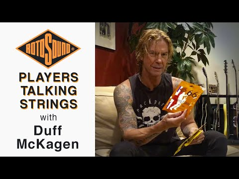 Duff McKagan Talks About Rotosound Bass and Guitar Strings