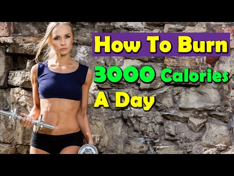 How to Burn 3000 Calories a Day Lose 1 Kg in 1 Day