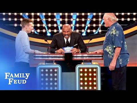 Terry Bradshaw BEGS Steve Harvey to ask a football question! | Celebrity Family Feud