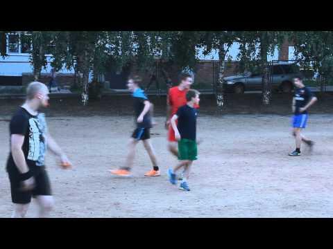 Наш дворовый футбол