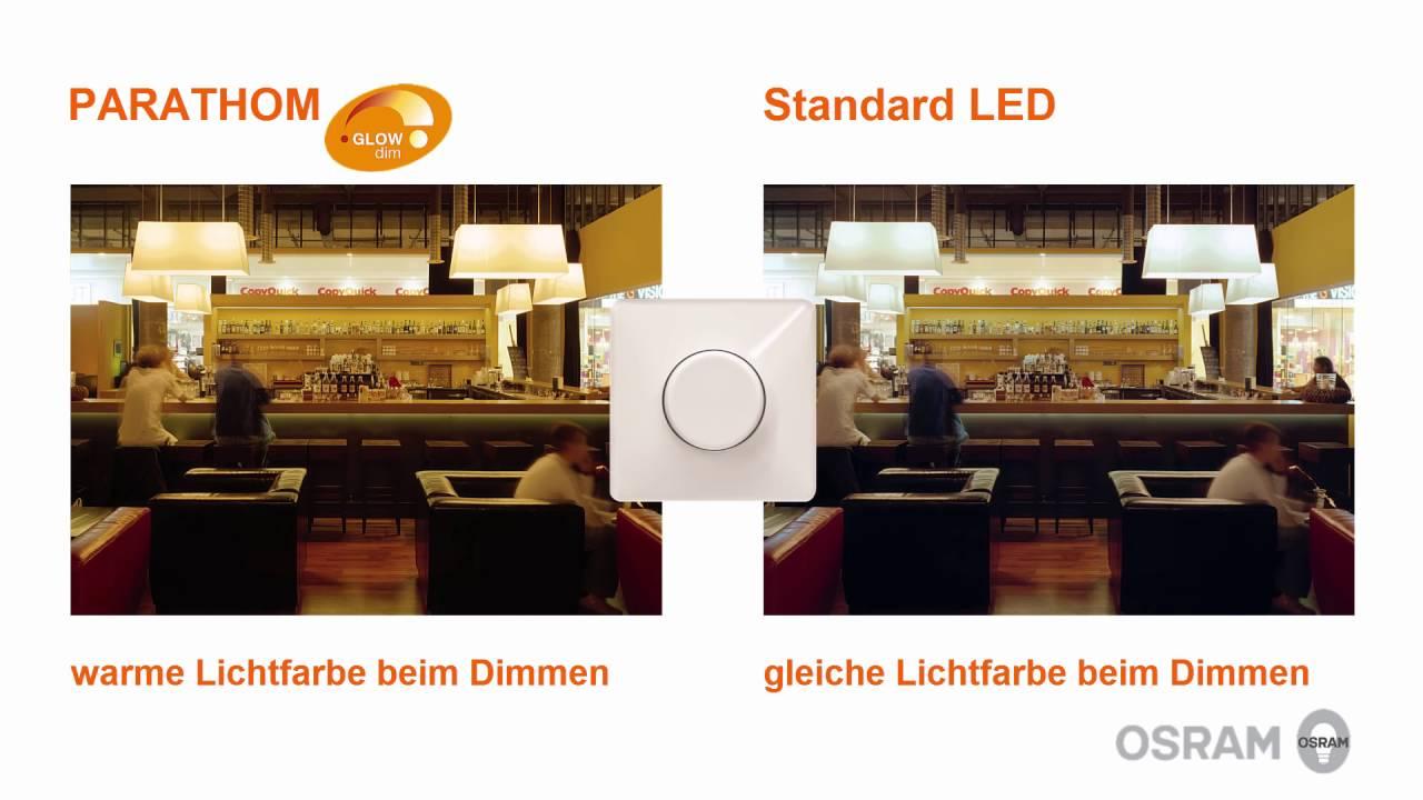 Led lampen mit glow dim technologie von osram youtube led lampen mit glow dim technologie von osram parisarafo Image collections