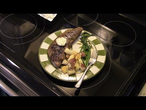 Sous Vide Steak with Herb Compound Butter