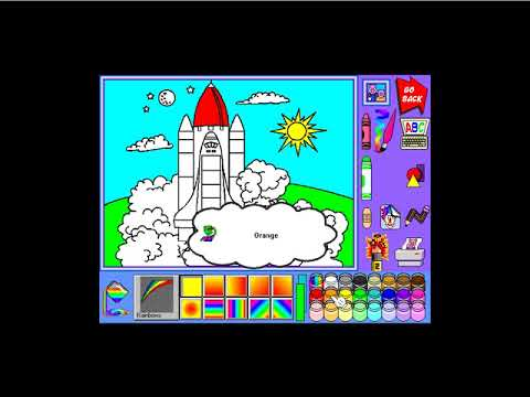 Crayola Art Studio 1994 Gameplay