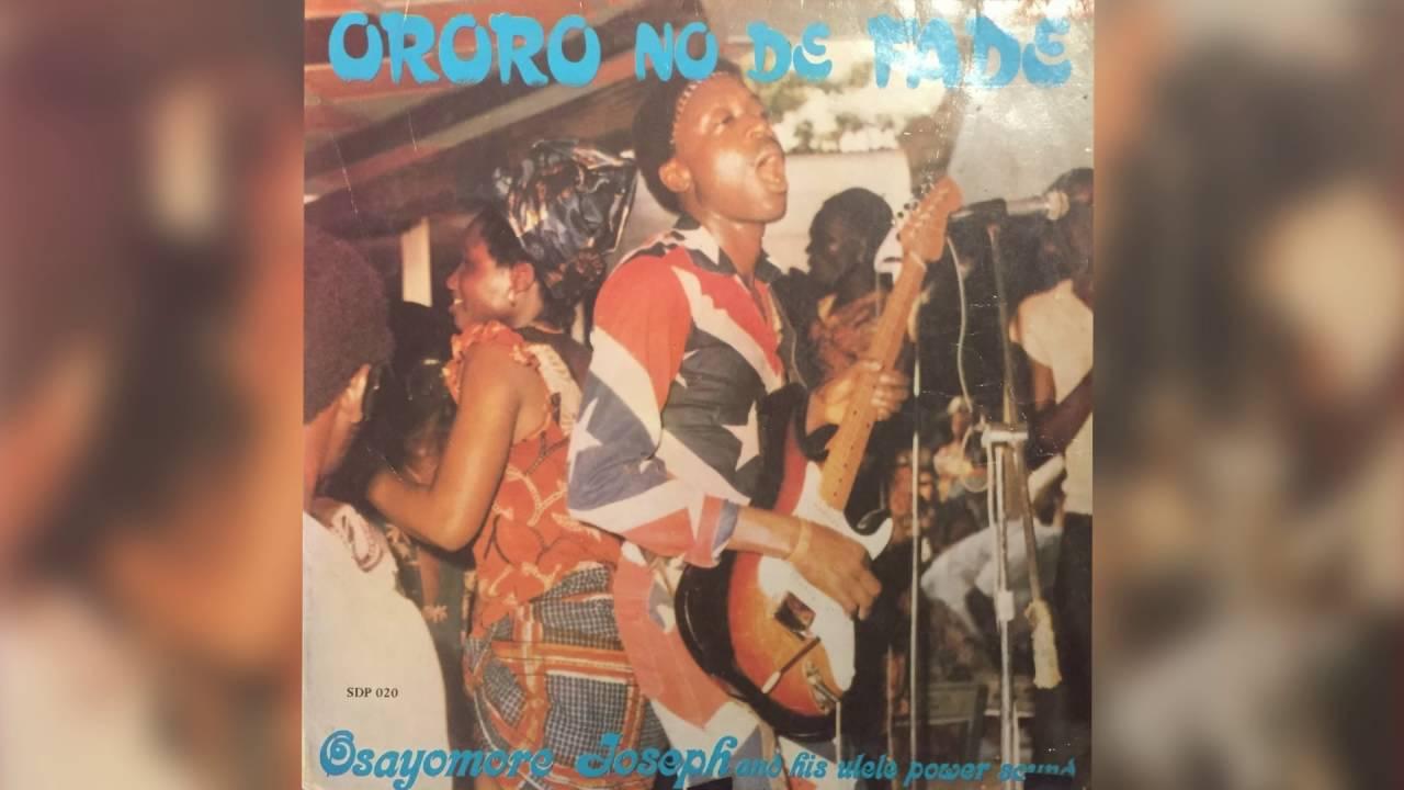 Osayomore Joseph and His Ulele Power Sound // Soja Go Soja Come