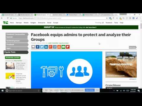 Tips and Tricks Facebook Groups June 27 2017