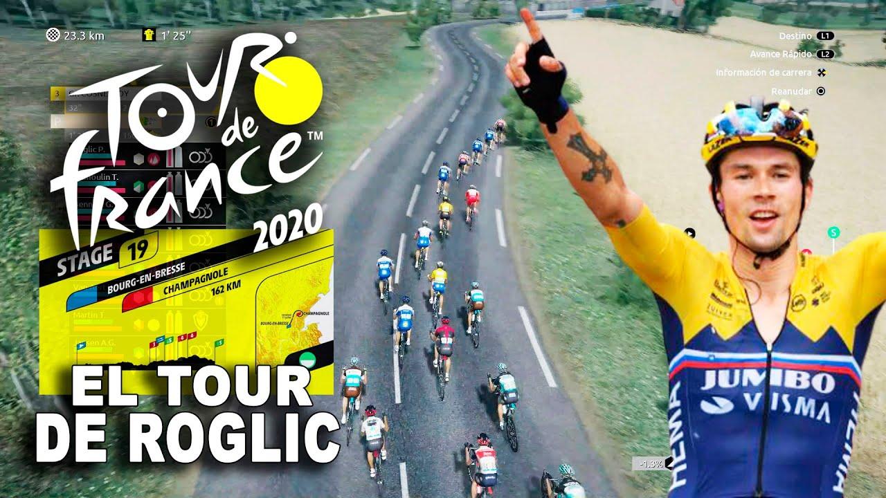 TOUR DE FRANCE 2020 El Tour de Roglic #19 VR_JUEGOS