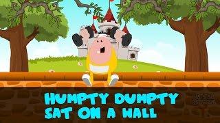 Humpty Dumpty Sat On A Wall   Kids Nursery Rhyme   BY Little Rhyme Box
