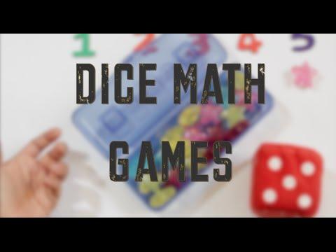 Dice Games - Preschool Math Activities