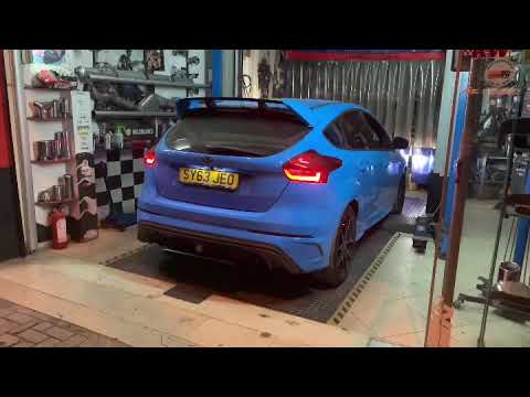 400hp Ford Focus St Straight Pipe