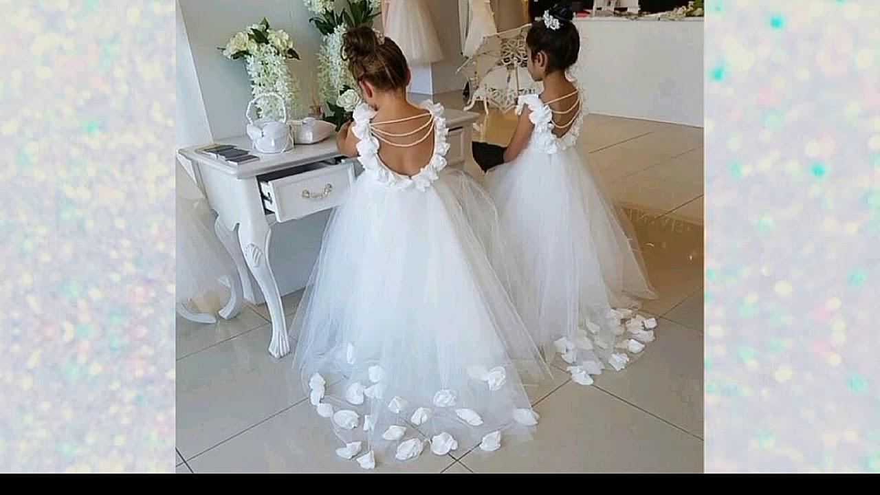 Hermosos Vestidos Blancos Para Niñas