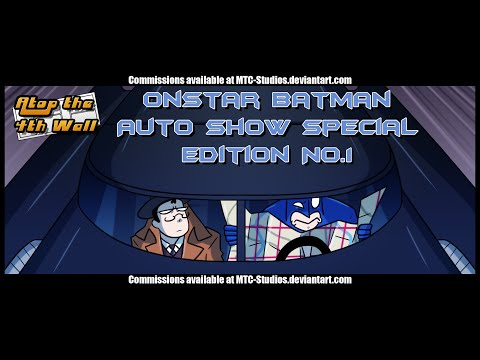 OnStar Batman Auto Show Special Edition #1 - Atop the Fourth Wall