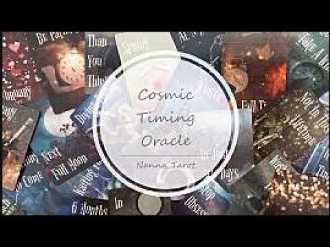 開箱  宇宙時間指引卡 • Cosmic Timing Oracle // Nanna Tarot