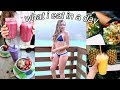 what I eat in a day (healthy + easy food)!