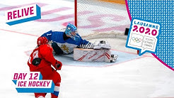 RELIVE - Ice Hockey - RUSSIA vs FINLAND - Men's Semifinal - Day 12 | Lausanne 2020