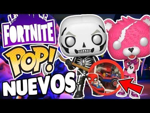 ¡CONFIRMADOS Los Funko POP de FORTNITE Avatar Spider-Man y MAS