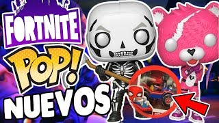 ¡CONFIRMADOS! Los Funko POP de FORTNITE, Avatar, Spider-Man y MAS