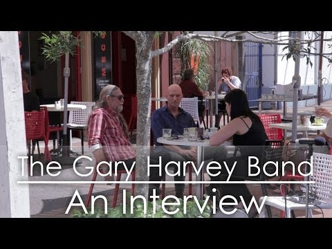 The Gary Harvey Band - An Interview