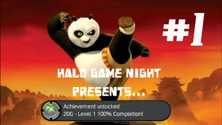 Kung Fu Panda - Level 1 100% Completion Achievement (Xbox 360)