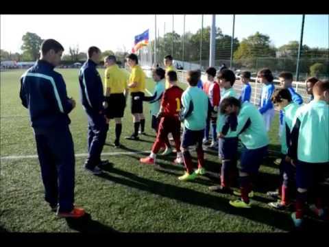 Les U11 Du Fc Barcelone Au Mini Mondial Dorvault Avril 2014 Youtube