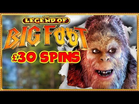 Bigfoot slot £30 ** MEGA GAMES **