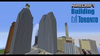 Minecraft Building Toronto #33 City Tour