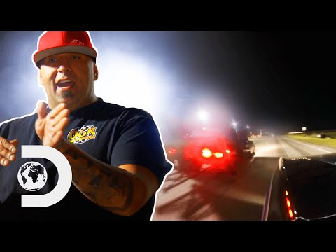 Download Racer Chokes When Rival Drives Close To The Line | Street Outlaws: Mega Cash Days