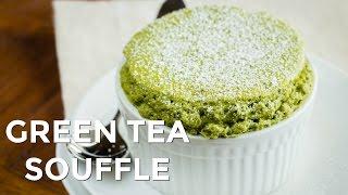 How To Make Green Tea (matcha) Souffle (recipe) 抹茶スフレの作り方(レシピ)