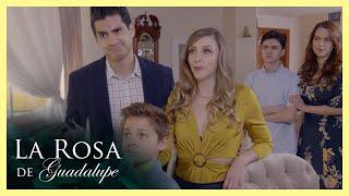 La Rosa de Guadalupe: Abel presenta a su nueva familia   Un vacío de amor