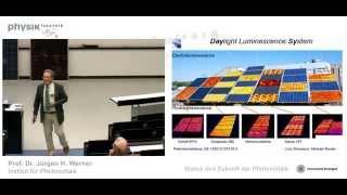 Status und Zukunft der Photovoltaik