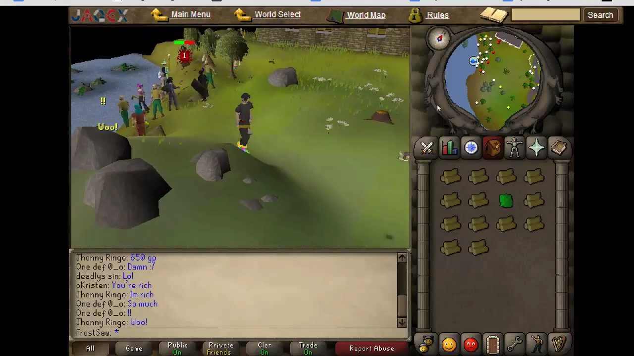 07 Rs World Map.Old School Runescape 2007 How To Make The Screen Larger Bigger Hd