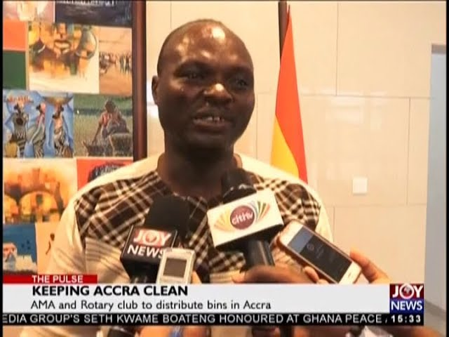Keeping Accra Clean - The Pulse on JoyNews (29-10-18)