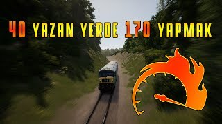 40km/h YAZAN YERDE 170 BASMAK!!! | ÇILDIRDIM