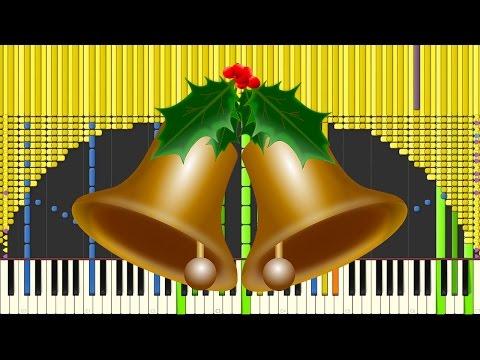 [Black MIDI] Synthesia – Jingle Bells 45,000 ~ Sir Spork