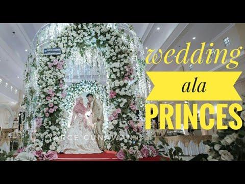 dekorasi pernikahan simple elegant - youtube
