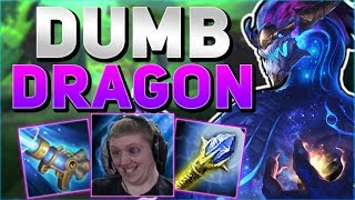 BOOP MASTER IN TRAINING! Aurelion Sol Mid Gameplay Season 8 - Dumb Shit To Diamond