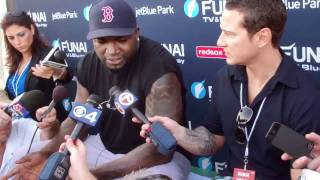 David Ortiz On Beer, Chicken And The 2012 Red Sox.flv