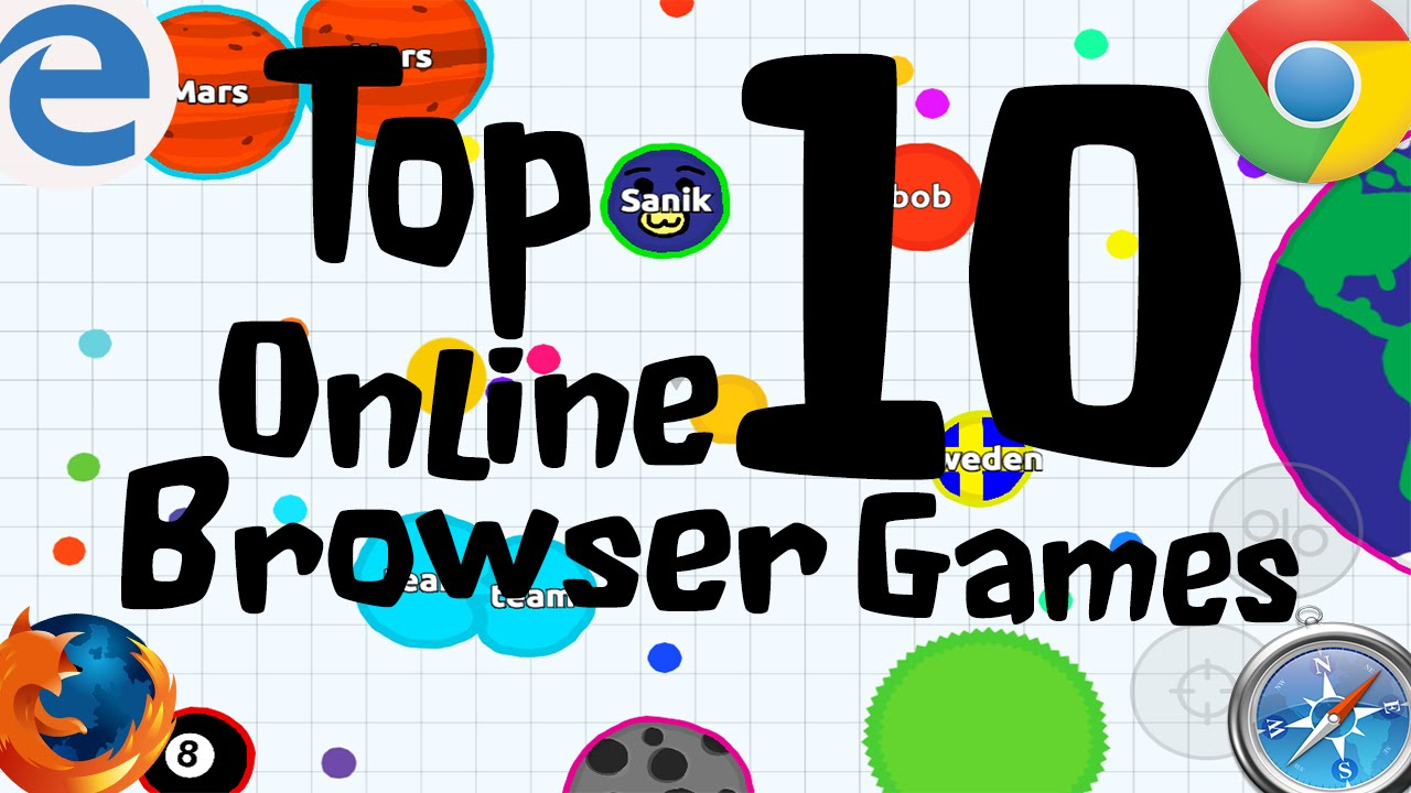 top browser games